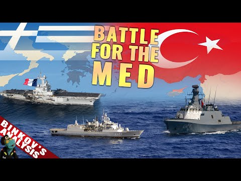 Could Greece and France stop Turkey from taking the eastern Mediterranean?