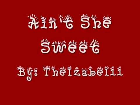 Ain't She Sweet - The Beatles - With Lyrics
