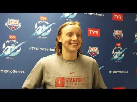 Katie Ledecky, 1500 World Record, Indianapolis Pro Swim Series