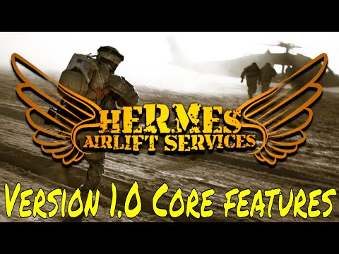 Hermes Airlift Services Script Demonstration - Arma3 Scripts