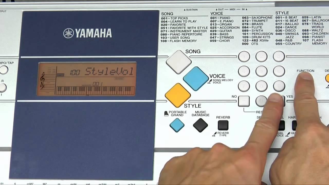 YAMAHA PSR E323 MIDI DRIVER WINDOWS 7 (2019)