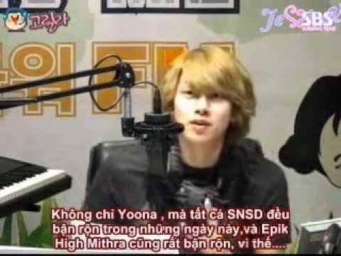 [Vietsub] SBS Young Street FM Radio with Yoona ep 1
