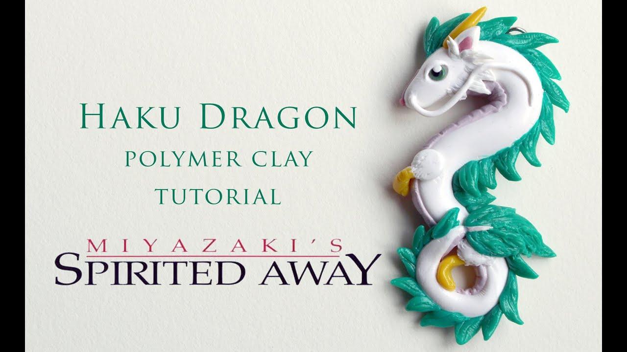 Diy Spirited Away Haku Dragon Polymer Clay Tutorial Youtube