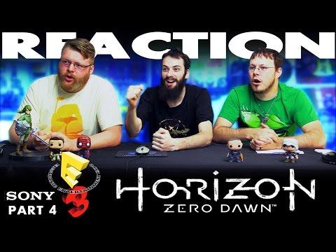 Horizon Zero Dawn Demo REACTION!! Sony E3 2016 Conference 4/12