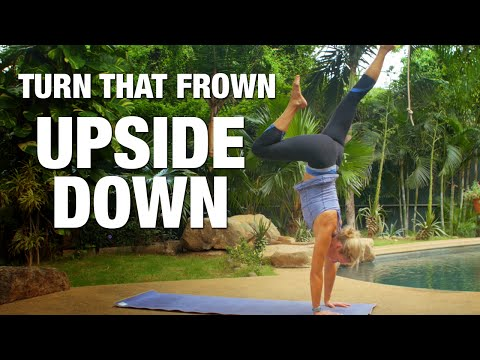 Turn that Frown Upside Down Yoga Class - Five Parks Yoga