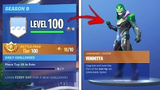 *UNLIMITED XP GLITCH* How to get MAX TIERS (Tier 100) Fast in Fortnite Season 9 for FREE