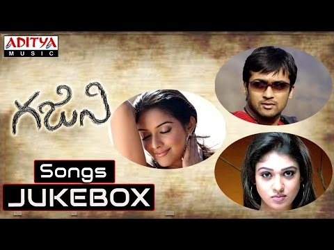 Ghajini Telugu Movie Full Songs  Jukebox  Surya, Asin
