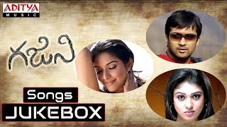 Ghajini Telugu Movie Full Songs || Jukebox || Surya, Asin