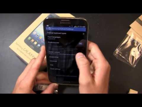Samsung Galaxy Mega Unboxing