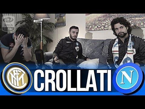 SIAMO CROLLATI... INTER 0-0 NAPOLI LIVE REACTION NAPOLETANI HD