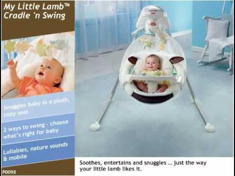 My Little Lamb™ Cradle 'n Swing