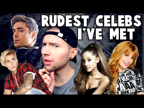 EXPOSING RUDE CELEBRITIES I'VE MET (I may regret this…)