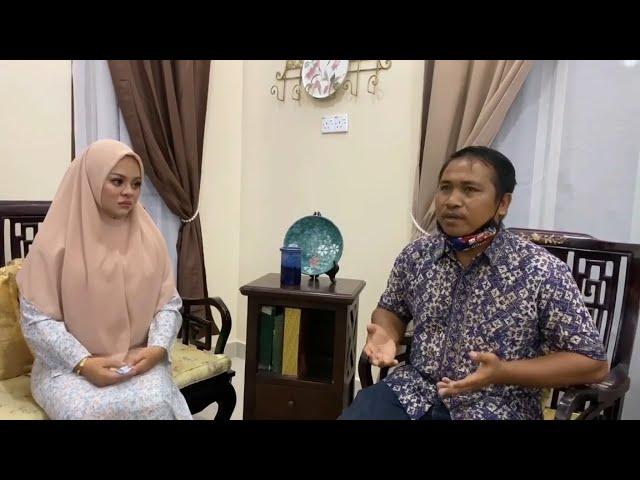Siti Sarah menangis depan Tok Batin