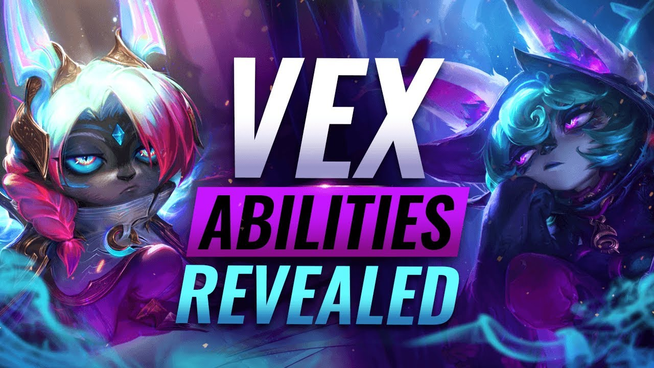 Download NEW CHAMPION VEX: ALL ABILITIES REVEALED - League of Legends
