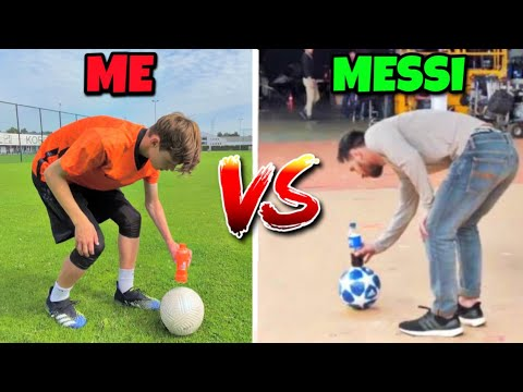 RECREATING VIRAL FOOTBALL MOMENTS  Best Of