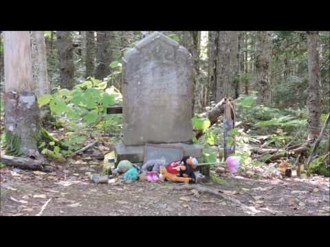 Creepy Grave Pictou County Nova.Scotia