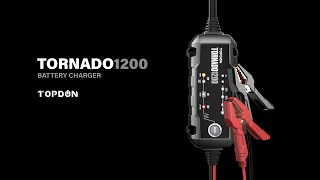 What's TOPDON Portable Smart Battery Charger Tornado1200?