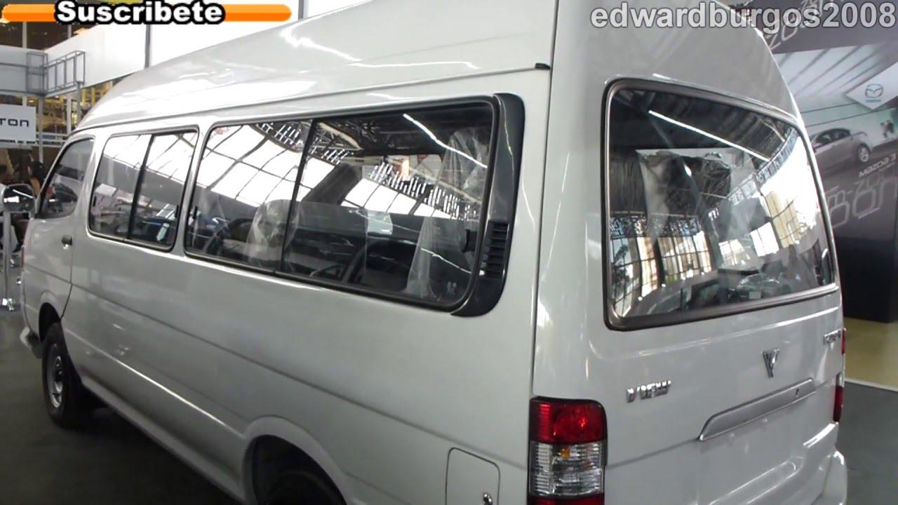 Venta De Carros >> foton van view 2013 precio colombia video auto show medellin 2012 FULL HD - YouTube