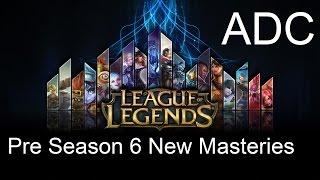 pre season 6 new masteries adc by c9 sneaky gosu doublelift piglet