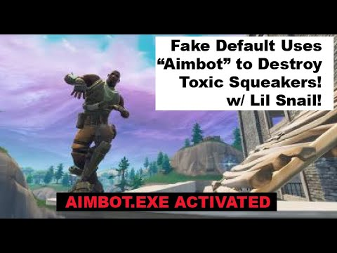 Defaulty Boi UsesAimbot and Destroys Toxic Squeakers in Playground! Extremely Funny! Must Watch!