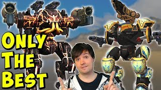 ONLY THE BEST War Robots - Mk2 Ares, Mercury, Ao Jun Live Gameplay WR