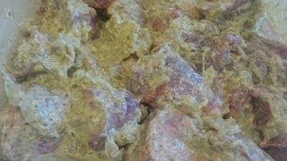 Шашлык из свинины по-грузински. Рецепт шашлыка