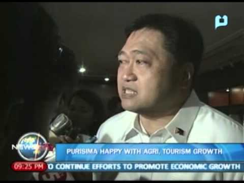 NewsLife: Cesar Purisima happy with agriculture, tourism growth