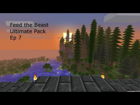 Feed the Beast Ultimate Pack FTB EP 7 Extra Bee Machines