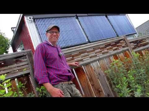 154. Solar Thermal 101 - how a garage suite went net-positive using solar energy