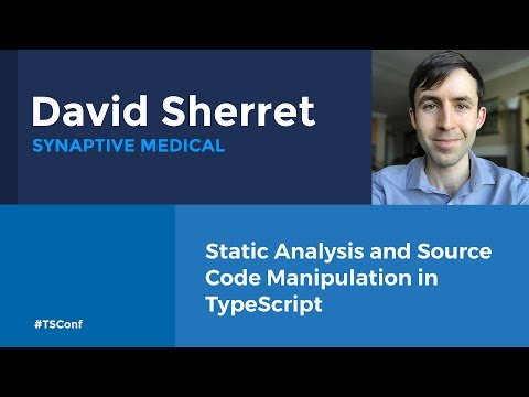 Static Analysis and Source Code Manipulation in TypeScript