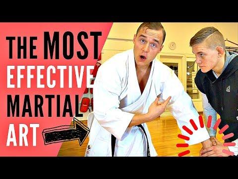 THE BEST MARTIAL ART (FOR SELF-DEFENSE) — Jesse Enkamp