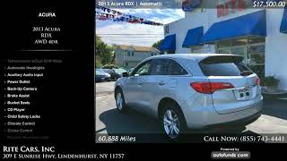 Used 2013 Acura RDX | Rite Cars, Inc, Lindenhurst, NY