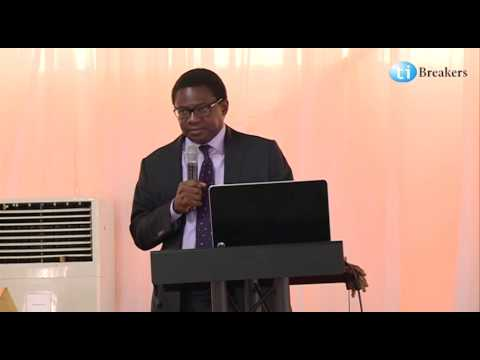 Demola Akinrele at Tibreakers Career Conference 2014