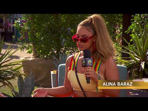 Alina Baraz Interview  Coachella 2018