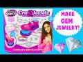 Cra-Z-Art Cra-Z-Jewelz ULTIMATE Gem Machine- DIY Charms Bracelets Necklace Jewelry and More!