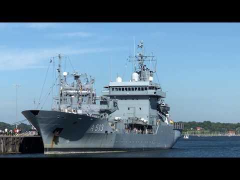 TENDER RHEIN A 513 Deutsche Marine Open Ship Kiel