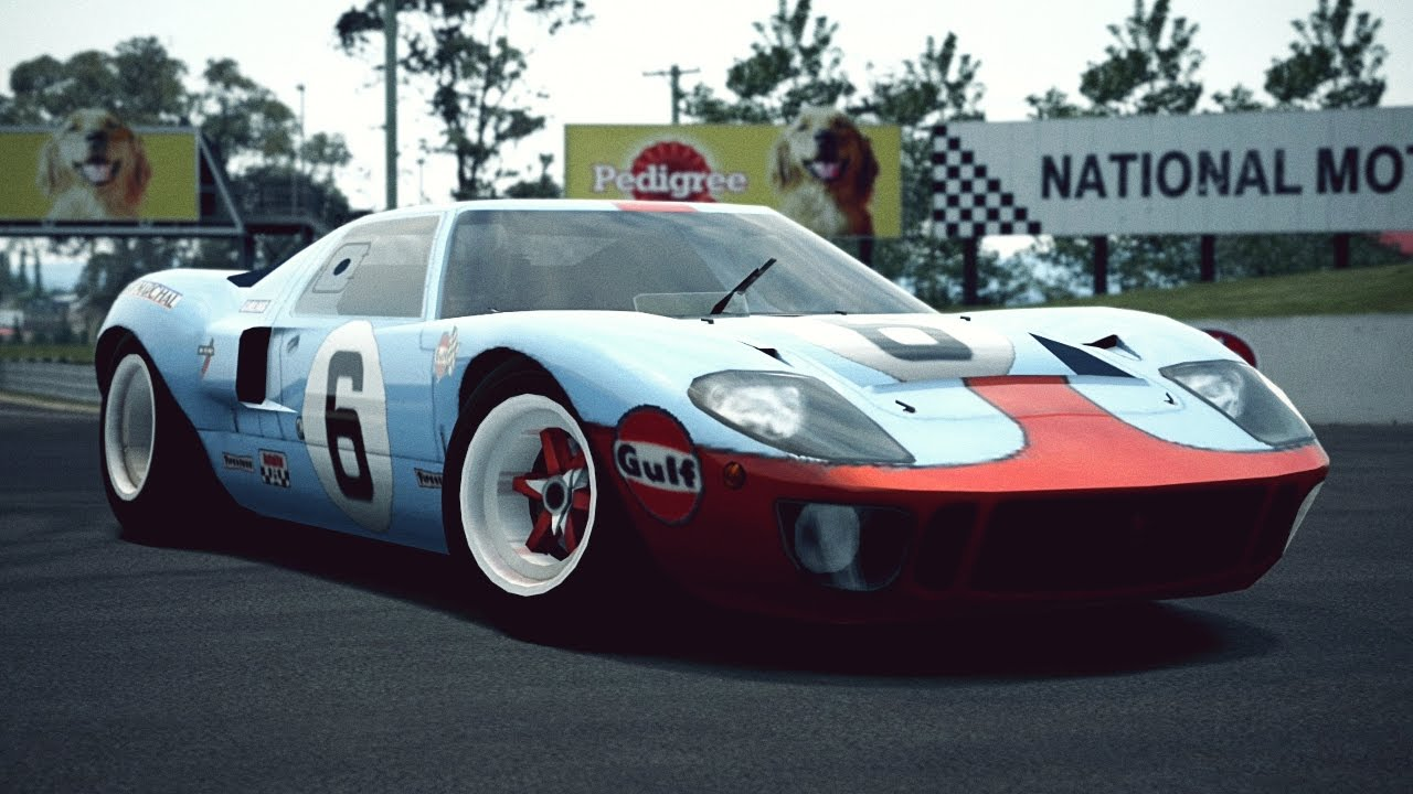 Gt6 Ford Gt40 Race Car 69 Exhaust Video Youtube