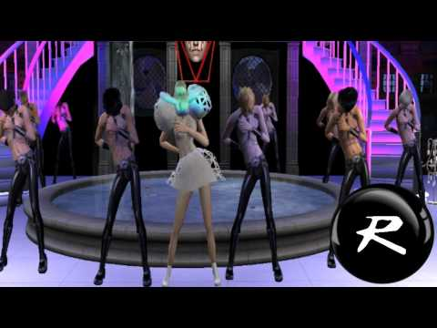 Lady Gaga Dance in the dark  (Sims2) HD
