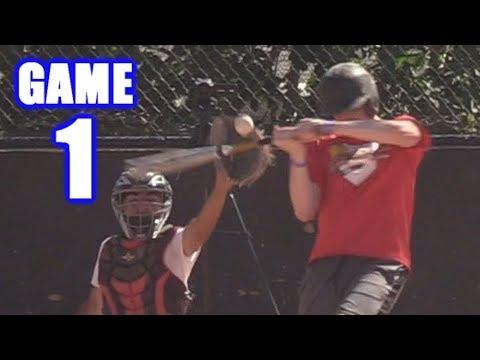 PLAYING BASEBALL WITH MLB YOUTUBERS! | On-Season Baseball Series | Game 1
