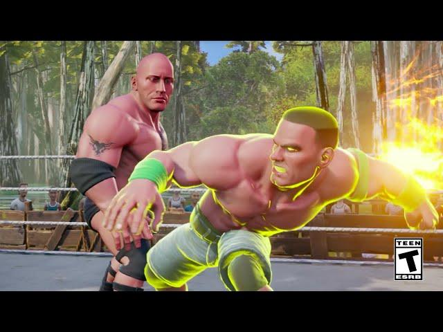 WWE 2K Battlegrounds (видео)