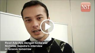 Read Ada Apa Dengan Cinta star Nicholas Saputra's interview in Groove tomorrow