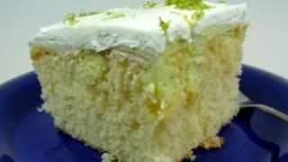 Eggless Lime Cake Recipe Video - Make Eggless Lemon or Orange Cake with same method!