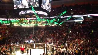 conor mcgregor ufc on fox sports 1 entrance