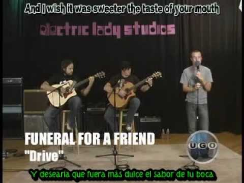 Funeral for a Friend - Drive [Live Acustic ] Sub Esp mp3