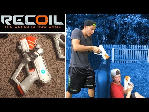 Recoil Laser Tag - Battle 1vs1 - How Recoil Works! | TanMan321Go