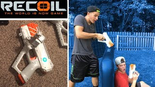 Recoil Laser Tag - Gameplay #1 1vs1 - How Recoil Works! | TanMan321Go