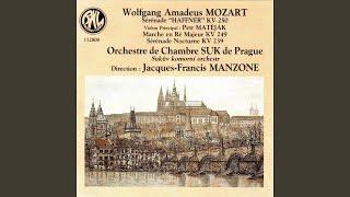 """Sérénade No. 7, KV 250 """"Haffner"""": V. Menuetto galante"""