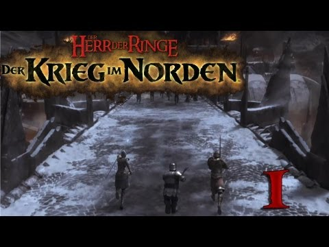 Let's Play Together Der Herr der Ringe Der Krieg im Norden German Teil 1 HD