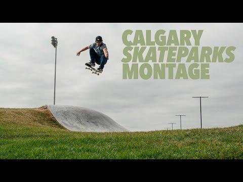 Calgary Skateparks Montage