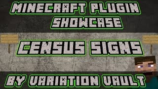 Minecraft Bukkit Plugin - Census signs - How many players are in a region